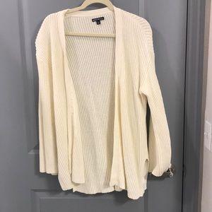 Cream J. Crew Summer Sweater